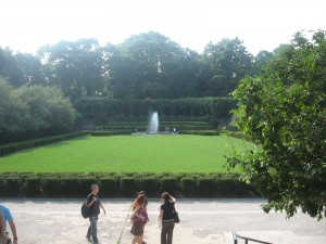 Visiting the Conservatory Gardens in Central Park