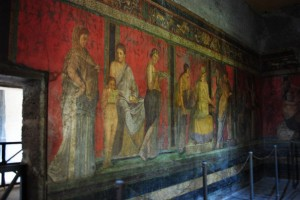 La Villa dei Misteri a Pompei