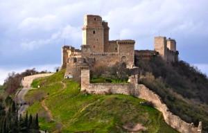 Assisi's Rocca Maggiore