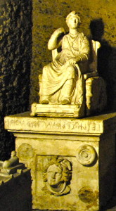 An Etruscan statue (PS Giovanni)